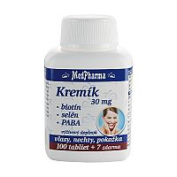 MedPharma KREMIK 30MG+BIOTIN+SE+PABA tbl 100+7 (107 ks)