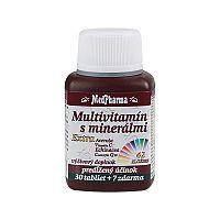 MedPharma MULTIVITAMIN S MINERÁL. EXTRA 42 ZLOŽIEK tbl 30+7 (37 ks)
