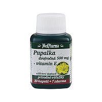 MedPharma Pupalka dvouletá 500mg + Vitamín E 37 kapsúl