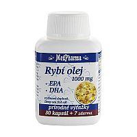 MedPharma RYBI OLEJ 1000 mg - EPA, DHA cps 30+7 (37 ks)