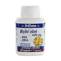 MedPharma RYBI OLEJ 1000 mg - EPA, DHA cps 30+7 zadarmo (37 ks)