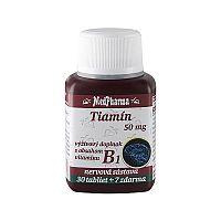 MedPharma TIAMÍN 50 mg (vitamín B1) tbl 30+7 (37 ks)