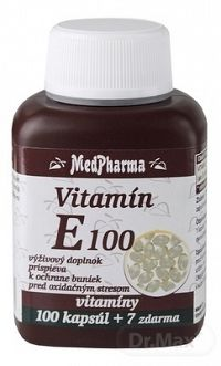 MedPharma Vitamin E 100 tob.107