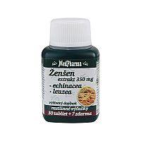 MedPharma ŽENŠEN 350 mg + Echinacea + Leuzea tbl 30+7 (37 ks)