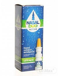 NASAL DUO ACTIVE 1,0/50 mg/ml aerodisperzia, 10 ml