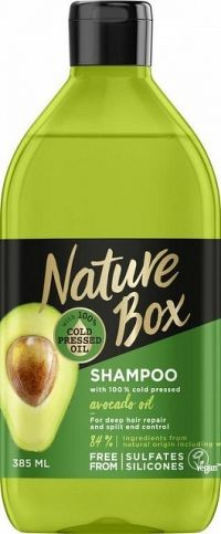 Nature Box šampón Avokádo 385ml