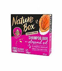 Nature Box tuhý šampón Almond 85g