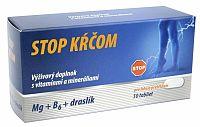 Naturprodukt Stop kŕčom mg + B6 + Draslík 50 tabliet