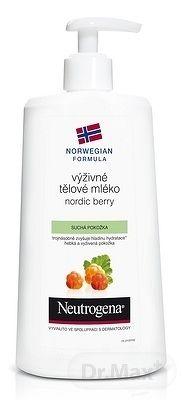 Neutrogena Nordic Berry výživné telové mlieko pro suchou pokožku 400 ml