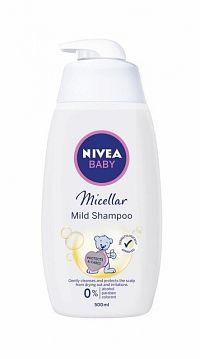 NIVEA BABY Micelárny šampón 1x500 ml
