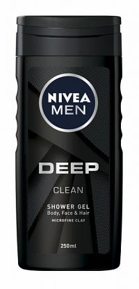 NIVEA MEN Men Deep 250 ml - sprchový gél