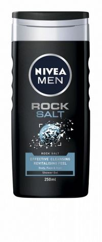 NIVEA MEN Men Rock Salt 250 ml - sprchový gél