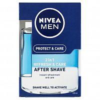 NIVEA Men Ošetrujúca voda po holení 2v1 Protect&Care 100 ml