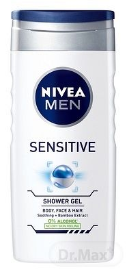 NIVEA MEN SPRCHOVÝ GÉL Sensitive 1x250 ml