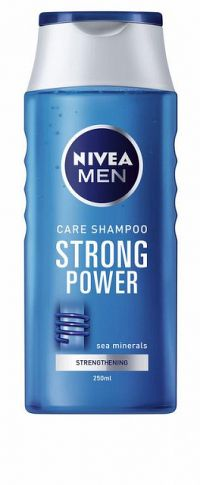 NIVEA MEN Strong Power 250 ml - šampón