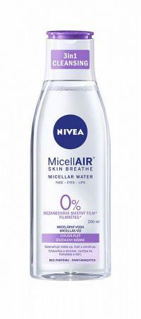 NIVEA Micelárna voda MicellAIR Sensitive upokujujúca, all in 1, 1x200 ml