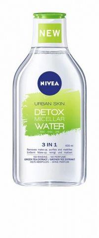 NIVEA Micelárna voda Urban Detox 400 ml micelárna voda