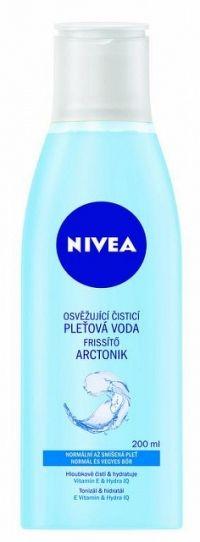 NIVEA Osviežujúca čistiaca pleťová voda Hydra IQ 200 ml pleťová voda