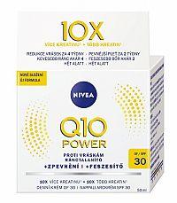 NIVEA Spevňujúci denný krém Q10 POWER SPF30 proti vráskam, normálna pleť 1x50 ml