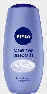NIVEA SPRCHOVÝ GÉL Creme Smooth pre ženy 1x250 ml