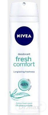 NIVEA SPREJ DEODORANT Fresh Comfort pre ženy 1x150 ml