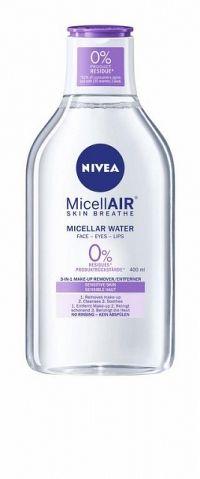 NIVEA Upokojujúca micelárna voda 400 ml micelárna voda
