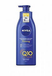 NIVEA Výživné spevňujúce telové mlieko Q10 + vitamín C 400 ml telové mlieko