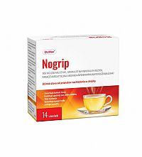 Nogrip 500 mg/200 mg/25 mg horúci nápoj pri chrípke a nachladnutí, 14 vreciek