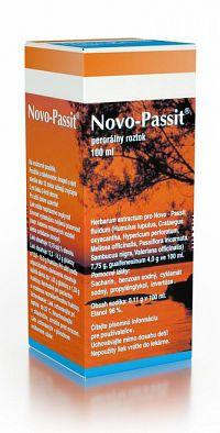 NOVO-PASSIT sol por (fľ.skl.hnedá) 1x100 ml