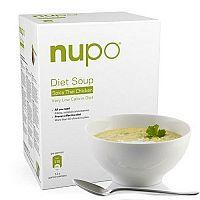 NUPO Diétna polievka Thajská pikantná kuracia prášok, 12 x 32 g