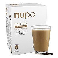 NUPO Diétny nápoj Caffe latte prášok, 12 x 32 g