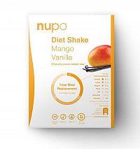 NUPO Diétny nápoj Mango & Vanilka prášok, 12 x 32 g