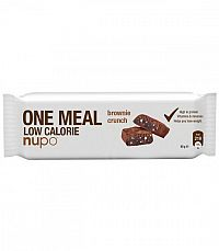 NUPO Meal bar Tyčinka Brownie chrumkavá 60g
