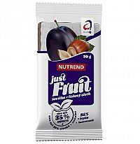 Nutrend Just Fruit - slivka + lieskový orech 1x30 g