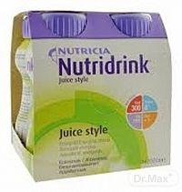 Nutridrink Juice Style s jablkovou príchuťou 4x200 ml