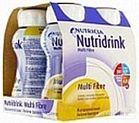 NUTRIDRINK MULTIFIBRE vanilková príchuť 4x200 ml
