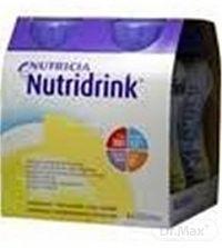NUTRIDRINK vanilková príchuť 4x200 ml