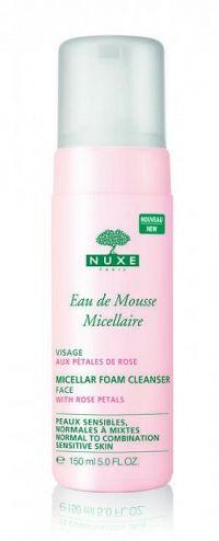 NUXE Eau de Mousse Micellaire Čistiaca micelárna pena s výťažkami z ruže 1x150 ml
