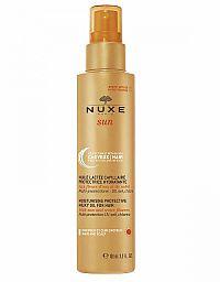 NUXE SUN Mliečny hydratačný olej na vlasy v spreji 100 ml