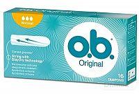 o.b. Original Normal hygienické tampóny (inov.2018) 1x16 ks