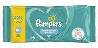 PAMPERS Baby Wipes Fresh Clean vlhčené obrúsky XXL pack 1x80 ks