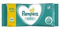 PAMPERS Baby Wipes Sensitive vlhčené obrúsky XXL pack 1x80 ks