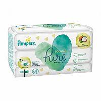 Pampers Coconut Pure 3x42 kusov