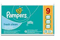 Pampers Fresh Clean - vlhčené obrúsky 9 x 64 ks (576 ks)