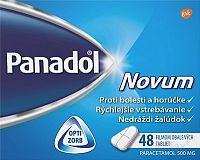 Panadol Novum 500 mg tbl flm (blis.PVC/Al-nepriehľad.) 1x48 ks