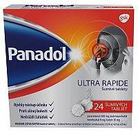 PANADOL ULTRA RAPIDE 24 šumivých tabliet