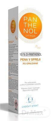 PANTHENOL Omega 10% ĽADOVÝ EFEKT pena v spreji po opaľovaní 1x150 ml