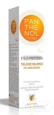 PANTHENOL Omega 9% RAKYTNÍK telové mlieko po opaľovaní 1x250 ml