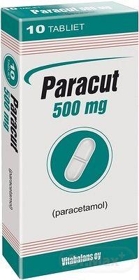 Paracut 500 mg tbl (blis.PVC/Al) 1x10 ks