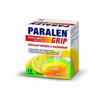 PARALEN GRIP horúci nápoj citrón 650 mg/10 mg plu por 1x12 vrecúšok